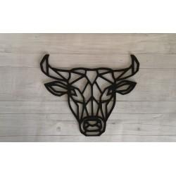 Obraz geometryczny głowa byka