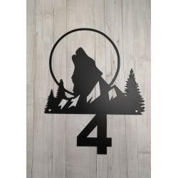 Tabliczka wilk