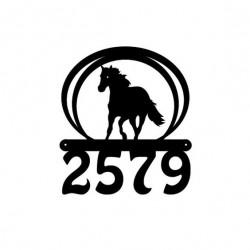Tabliczka koń
