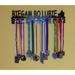 Wieszak na medale BIEGAM BO
