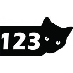 Metalowy-numer-na-dom-Kot