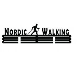Wieszak na medale nordic walking