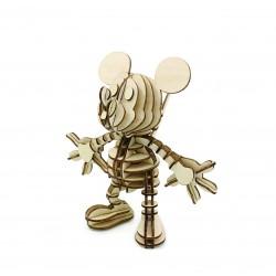 Puzzle 3D Myszka Miki