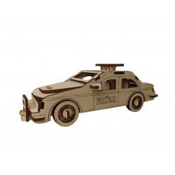 Puzzle 3D Samochód Policja