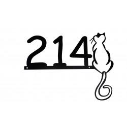 Tabliczka Kot 5 numer na dom