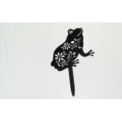 Ozdoba ogrodowa żaba