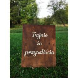 Tablica powitalna dla gości