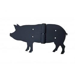 Metalowy zawias świnka